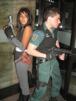 Resident evil dino crisis cosplay by Chris--Redfield