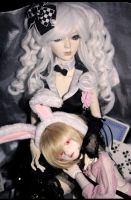 magician and rabbit II by Kaalii