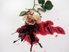 Bleeding roses by kyotowolf on DeviantArt