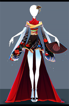 Adoptable outfit #38 - [Auction - CLOSED] by Eggperon