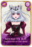 Adonette Rat Card by LibeRitee