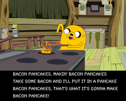Bacon Pancakes! by CocoBacca