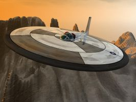 USAF Saucer 2 by shelbs2