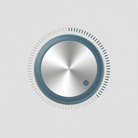 UI knob, mobile device interface by Giallo86