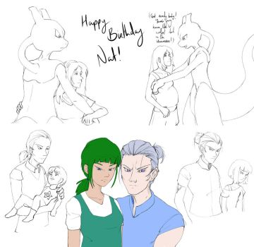 Happy Birthday Nat! by Metros2soul