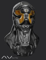 Alien Pilot 2 Hour Sculpt ZBrush by ViceNoctis
