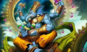 Ganesha Lord of Obstacles by GENZOMAN