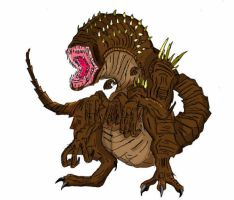 Land of Demons: Cosmosaur by 6hellsoldier