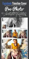 ProPhoto Artistic Facebook Timeline Cover Template by ShermanJackson