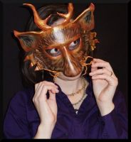 Mischievous Fox Mask by Jedi-With-Wings