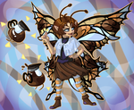 Coffee Fairy by Karret
