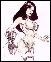 Witchblade by MonsterSaw