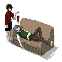 APH - How to wake people up by ryo-hakkai