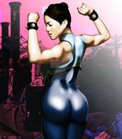 Chun Li by Oilkanlarry