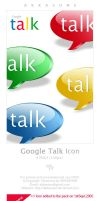 Google Talk Icon by akkasone