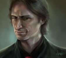 Mr. Gold by artastrophe