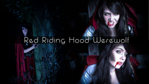 Red Riding Hood Werewolf - Halloween Make up by Sayuri-Shinichi