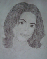 Michael Jackson portrait by L-Justine