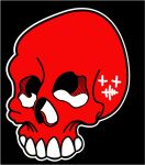 Skull Sticker by heely