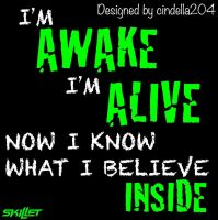 Awake and Alive Icon by cindella204