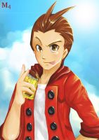 Apollo Justice - have a break have a cake by Marini4