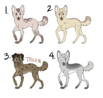 Cheap Dog Adopts by refintzer