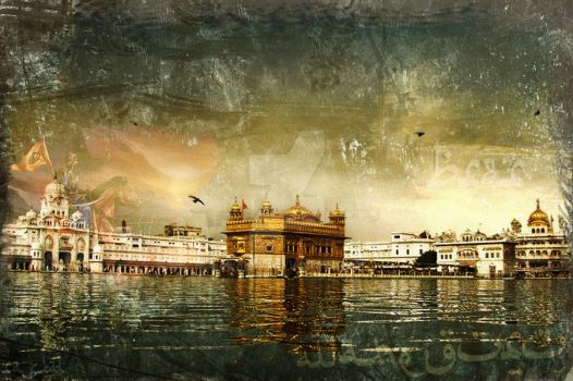 GOLDEN TEMPLE IN INDIA by deginer