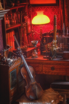 Detective's Room by MagicLaDyCharm