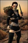 Hulal In Desert by Andecaya