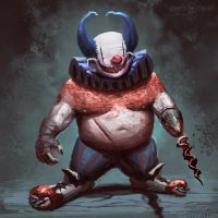 Fat Clown by ConnyNordlund