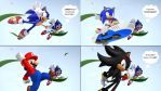 Sonic Confusion by ArtmasterRich