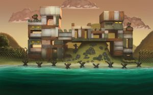 Military fort by edsfox