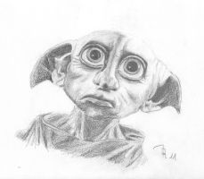 Dobby by LoonaLucy