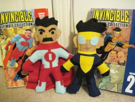 Invincible Plushies by GothicEssence