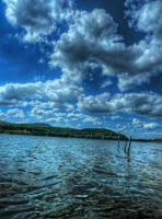 Artificial Lake No2 HDR by Risen-From-The-Ruins
