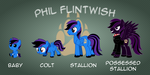 Commission - Phil Flintwish Age Chart by NortherntheStar