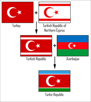 Turkic Republic flag by AY-Deezy