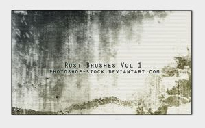 Rust Brushes by photoshop-stock