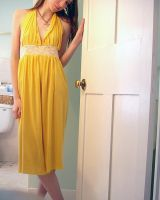 Mellow Yellow Dress by deconstructedstars