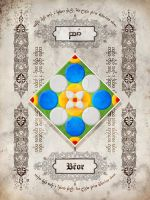 Silmarillion heraldry: Beor by Aglargon