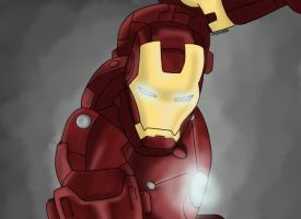 Iron Man by Crylander