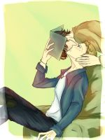 There's a Kiss On My Cheek by raidenz