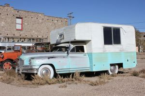 Homemade '48 Packard camper by finhead4ever