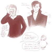 It's a Sherlock Dance Party by ISpeakMuffin