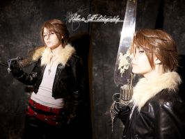 Squall at Fannatiku by bluerosegoddess