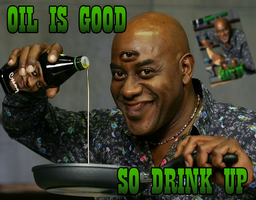 Ainsley likes oil by Pasha68