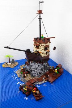 LEGO.Reef of Blind Pew by DwalinF