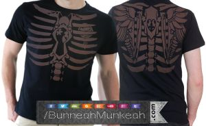 Steampunk Crew Front And Back by Bunneahmunkeah