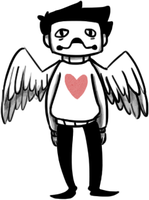 Zacharie with wings by nautical-anchors