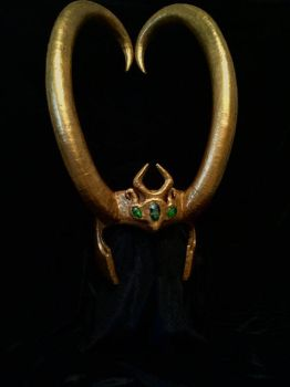 Lady Loki Headpiece by Thom-Heap